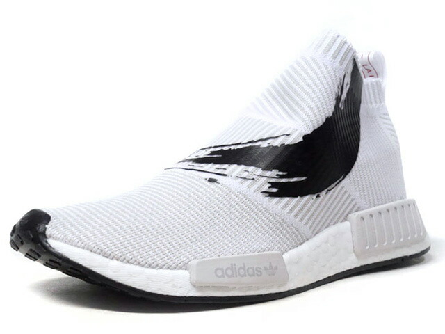 "adidas NMD CS1 PK ""禅"" ""LIMITED EDITION""  WHT/BLK/RED (BB9260)"