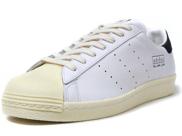 "adidas SUPERSTAR 80S SLAM JAM ""SLAM JAM"" ""LIMITED EDITION for CONSORTIUM""  WHT/BLK/NAT ()"