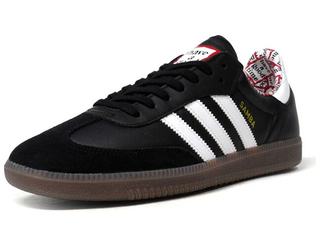 "adidas SAMBA HAGT ""have a good time"" ""LIMITED EDITION for CONSORTIUM""  BLK/WHT/RED/GUM (BD7362)"