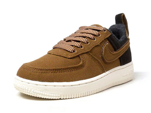 "NIKE FORCE 1 PRM WIP PS ""CARHARTT WIP"" ""LIMITED EDITION for NSW""  BRN/D.BRN/O.WHT (BQ3762-200)"