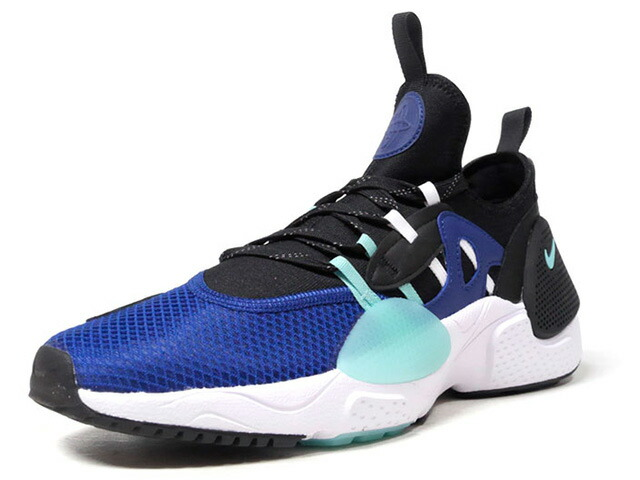 "NIKE HUARACHE E.D.G.E. TXT HA ""LIMITED EDITION for NONFUTURE""  BLK/BLU/E.GRN/WHT (BQ5205-400)"