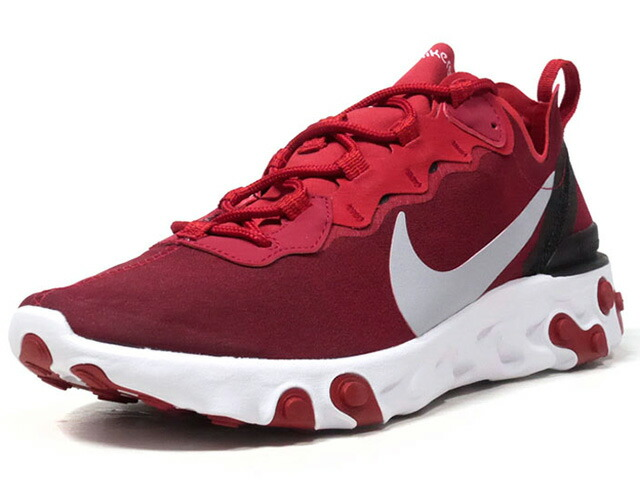 "NIKE  REACT ELEMENT 55 ""LIMITED EDITION for NSW""  RED/GRY/BLK/WHT (BQ6166-601)"