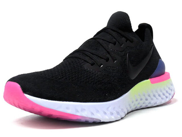 "NIKE EPIC REACT FLYKNIT 2 ""LIMITED EDITION for NSW""  BLK/NVY/PNK/L.GRN/L.BLU (BQ8928-003)"