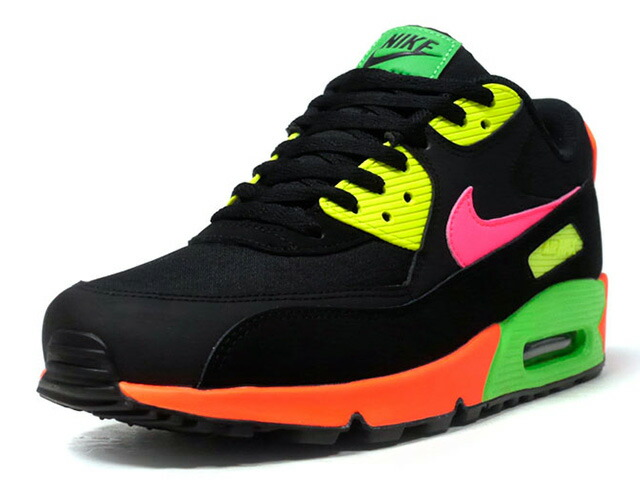 "NIKE AIR MAX 90 NEON ""NEON PACK"" ""LIMITED EDITION for NSW""  BLK/N.ORG/N.GRN/N.YEL/N.PNK (CI2290-064)"