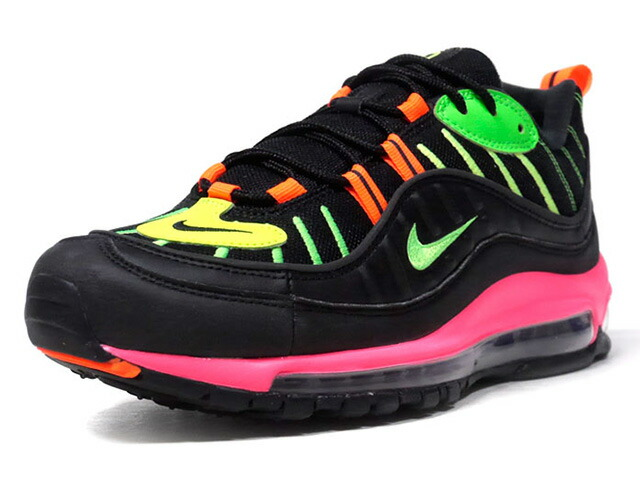 "NIKE AIR MAX 98 NEON ""NEON PACK"" ""LIMITED EDITION for NSW""  BLK/N.ORG/N.GRN/N.YEL/N.PNK (CI2991-083)"