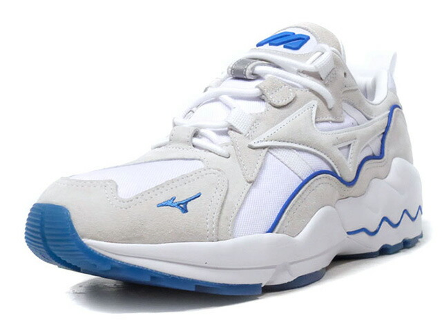 "MIZUNO WAVE RIDER 1 ""SEA SHORE"" ""LIMITED EDITION""  WHT/NAT/BLU (D1GA192601)"