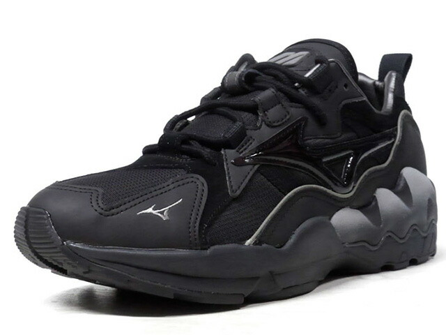 "MIZUNO WAVE RIDER 1 ""TECH FUTURE"" ""LIMITED EDITION""  BLK/SLV (D1GA192809)"