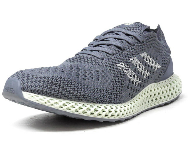 "adidas CONSORTIUM RUNNER 4D ""LIMITED EDITION for CONSORTIUM""  GRY/M.GRN (D96972)"