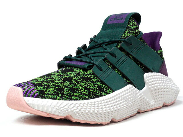 "adidas PROPHERE DB ""DRAGON BALL Z / CELL""  GRN/PPL/BLK/WHT/S.PNK (D97053)"