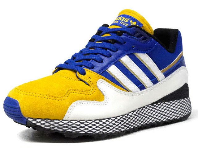 "adidas ULTRA TECH DB ""DRAGON BALL Z / VEGETA""  YEL/BLU/BLK/WHT (D97054)"
