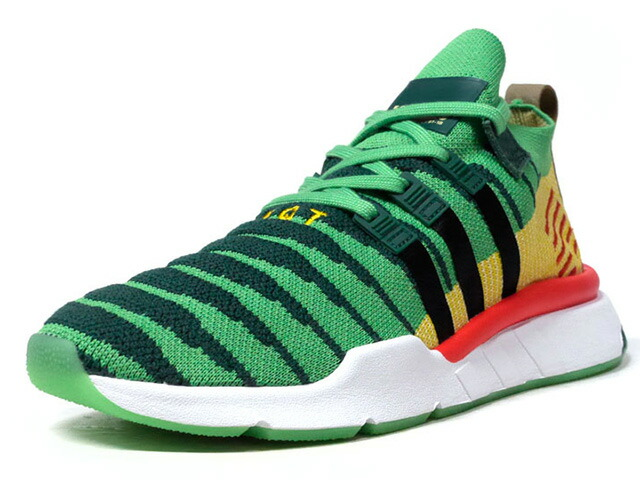 "adidas EQT SUPPORT MID ADV PK DB ""DRAGON BALL Z / 神龍""  GRN/YEL/RED/BLK/WHT (D97056)"