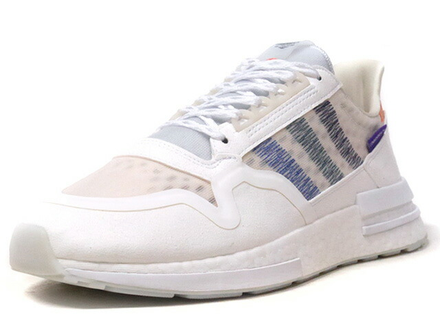 """adidas ZX500 RM COMMONWEALTH """"COMMONWEALTH"""" """"LIMITED EDITION for CONSORTIUM""""  WHT/BLU/GRN/PPL/ORG (DB3510)"""