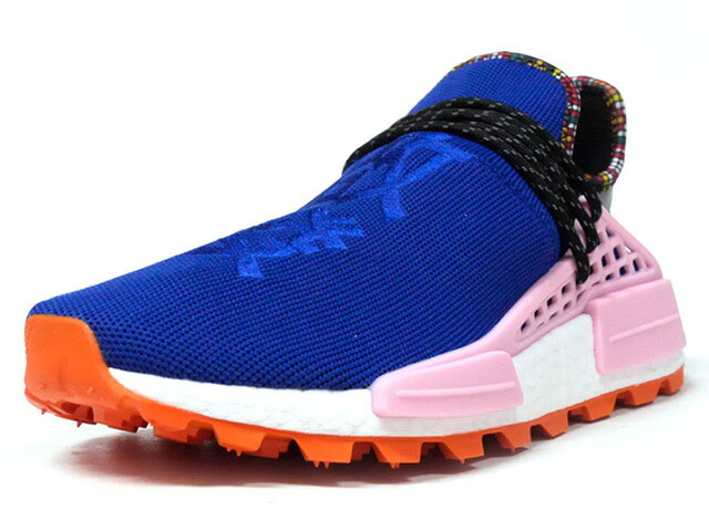 "adidas PW SOLAR HU NMD ""PHARRELL WILLIAMS"" ""INSPIRATION PACK""  BLU/PNK/ORG/WHT/BLK (EE7579)"
