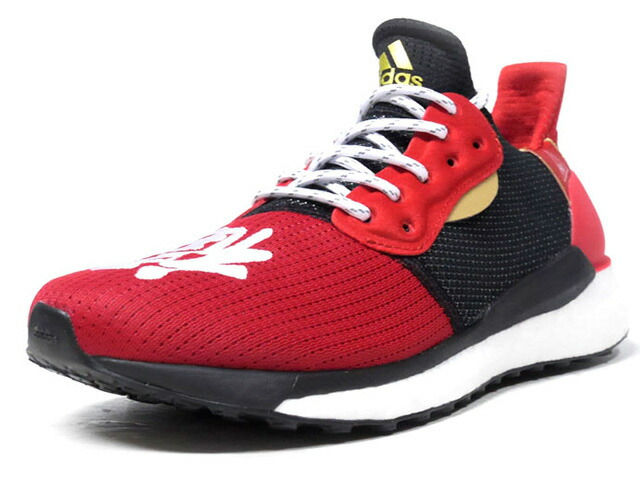 "adidas SOLAR HU GLIDE M CNY ""CHINESE NEW YEAR"" ""PHARRELL WILLIAMS"" ""HU COLLECTION""  RED/BLK/GLD/WHT (EE8701)"
