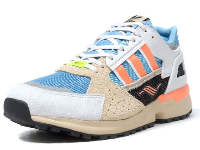 """adidas ZX10,000 C """"LIMITED EDITION for CONSORTIUM""""  GRY/O.WHT/SAX/S.PNK/WHT/BLK (EE9485)"""