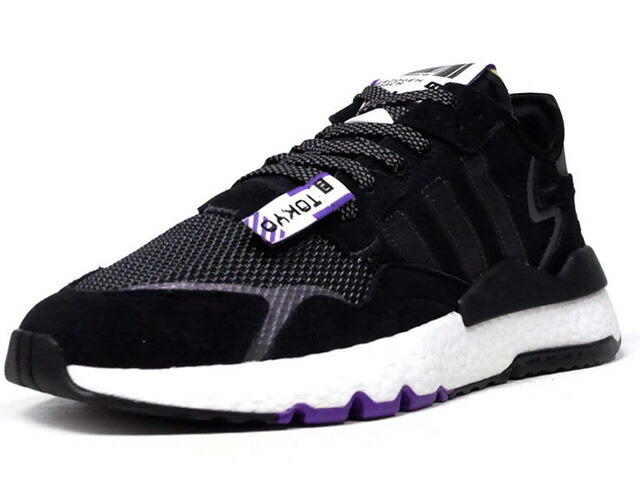 "adidas NITE JOGGER ""KEY CITY PACK/TOKYO"" ""LIMITED EDITION for ENERGY+""  BLK/SLV/WHT/PPL (EG2205)"