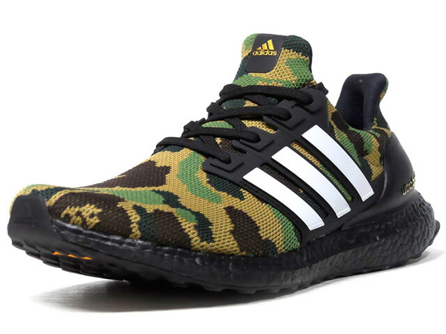 "adidas ULTRA BOOST BAPE ""A BATHING APE?"" ""LIMITED EDITION for CONSORTIUM""  CAMO/WHT/BLK (F35097)"