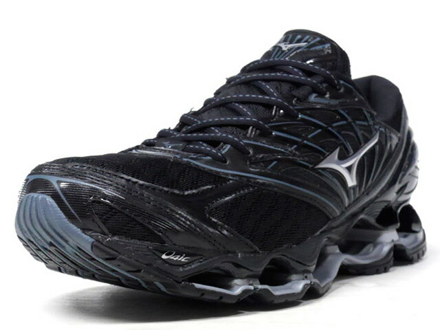 MIZUNO WAVE PROPHECY 8  BLK/GRY/SLV (J1GC190004)