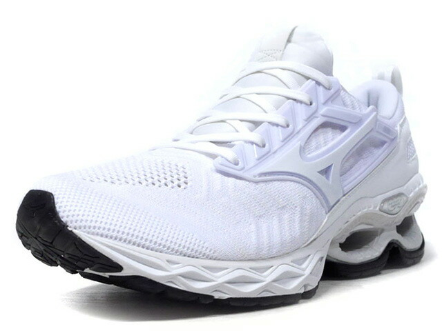 "MIZUNO WAVE CREATION WAVEKNIT ""LIMITED EDITION""  WHT/WHT (J1GC193302)"