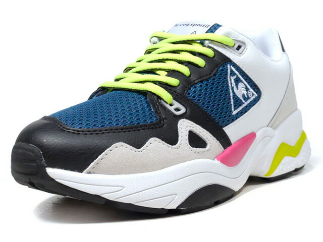 "le coq sportif LCS R 1921 TR ""LIMITED EDITION for better+""  WHT/BLK/GRN/BLK/N.GRN/PNK (QL1NJC20DW)"