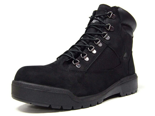 "Timberland FIELD BOOT 6 F/L WP ""LIMITED EDITION"" BLK/BLK (TB0A19KS)"