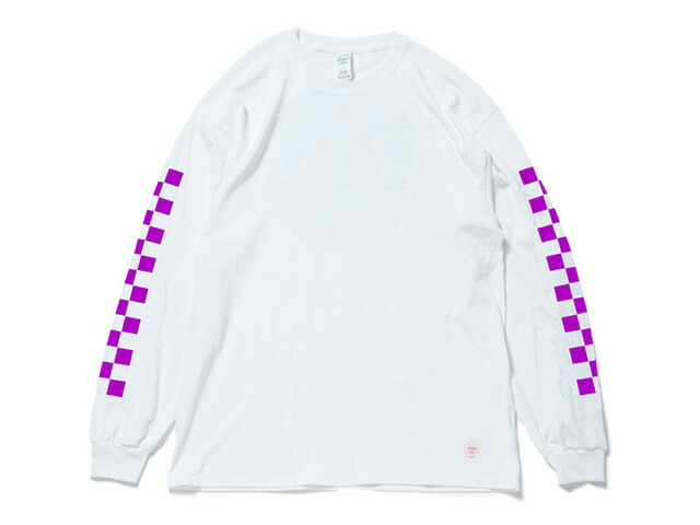 "GOODS ""ANARCHY IN THE EDO PERIOD"" LS TEE  WHT/PPL (TWISC-004)"