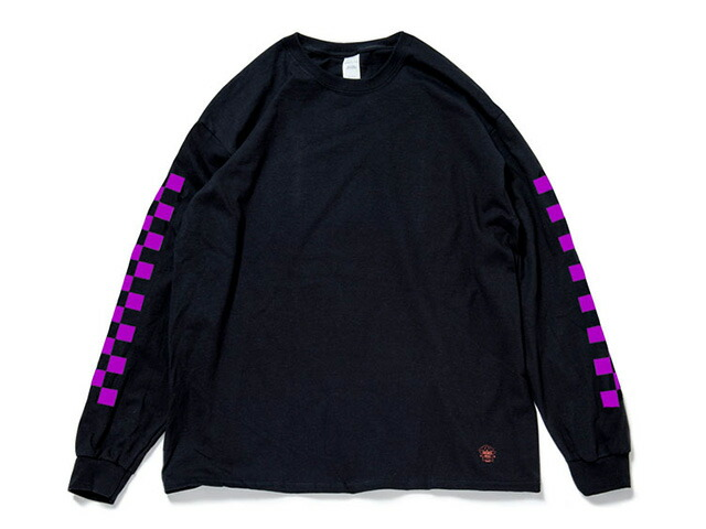 "GOODS ""ANARCHY IN THE EDO PERIOD"" LS TEE  BLK/PPL (TWISC-005)"