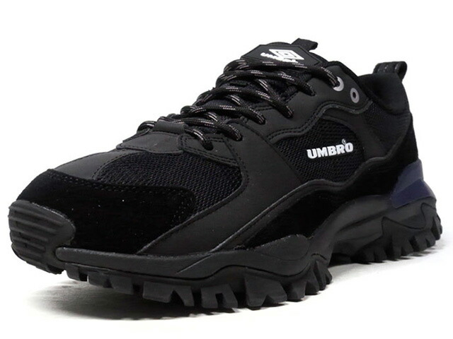 "umbro BUMPY ""LIMITED EDITION""  BLK/WHT/NVY (UY1MKC01BN)"