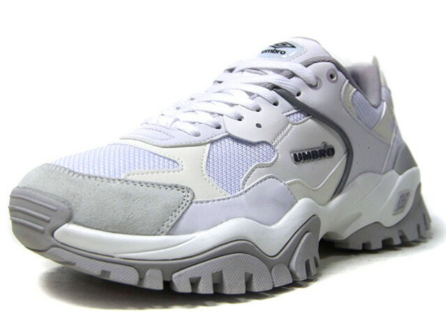 "umbro BUMPY-X ""LIMITED EDITUON""  WHT/O.WHT/GRY (UY1NKC01WH)"