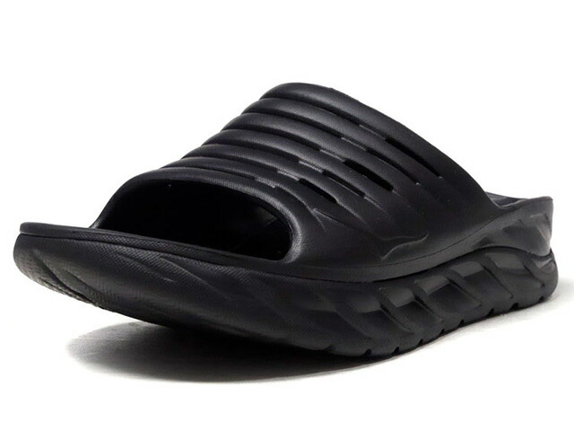 Hoka One One ORA RECOVERY SLIDE  BLK/BLK (1099673BBLC)