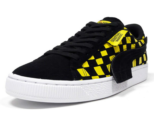 """Puma SUEDE """"CHINATOWN MARKET"""" """"LIFESTYLE LIMITED EDITION""""  BLK/YEL/WHT (370133-01)"""