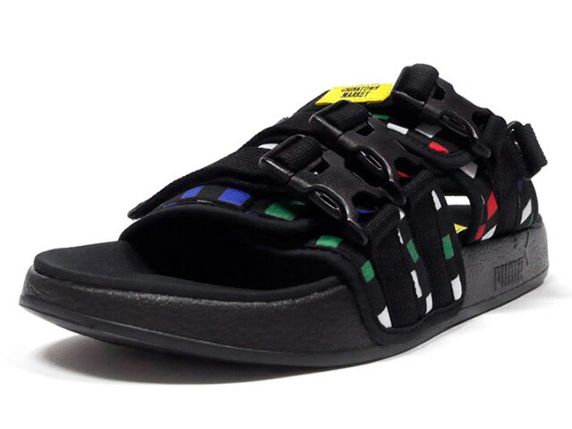 "Puma LEADCAT ""CHINATOWN MARKET"" ""LIFESTYLE LIMITED EDITION""  BLK/YEL/WHT/GRN/RED/BLU (370188-01)"