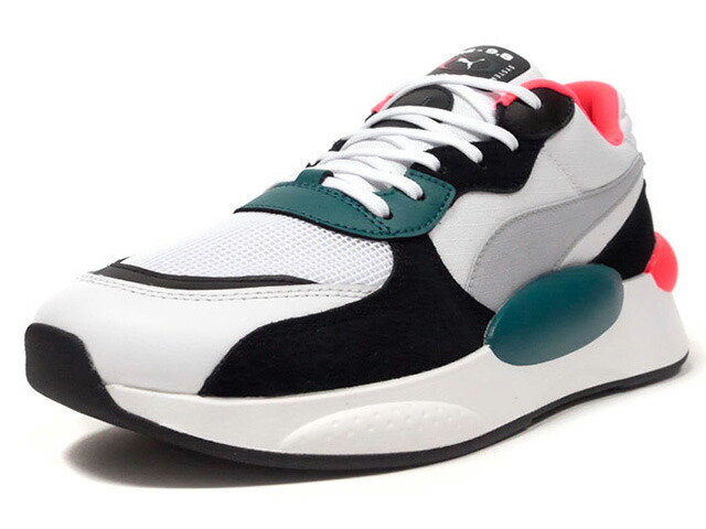 """Puma RS-9.8 SPACE """"LIMITED EDITION for PRIME""""  WHT/BLK/GRN/N.ORG/GRY (370230-04)"""