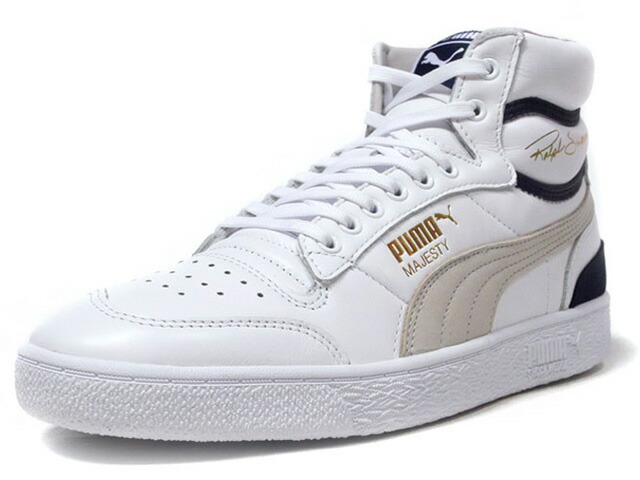 "Puma RALPH SAMPSON MID OG ""RALPH SAMPSON"" ""LIFESTYLE LIMITED EDITION"" WHT/GRY/NVY (370718-01)"