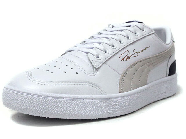 "Puma RALPH SAMPSON LOW OG ""RALPH SAMPSON"" ""LIFESTYLE LIMITED EDITION"" WHT/GRY/NVY (370719-01)"