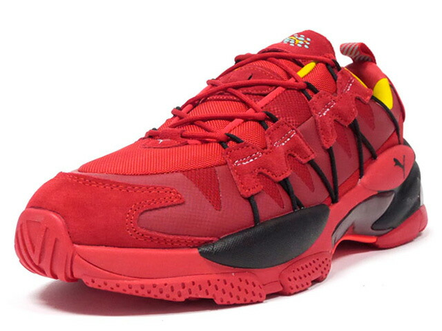 "Puma LQDCELL OMEGA MANGA CULT ""LIFESTYLE LIMITED EDITION""  RED/BLK/YEL (370735-01)"