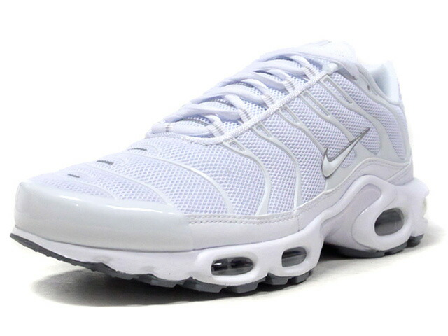 "NIKE AIR MAX PLUS ""TRIPLE WHITE"" ""LIMITED EDITION for NSW""  WHITE/WHITE/BLACK/COOL GREY/BLANC/NOIR/GRIS FRAIS/BLANC (604133-139)"