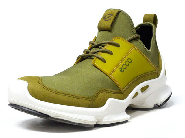 "ECCO BIOM C ""COLORFULL COLLECTION"" ""LIMITED EDITION""  OLV/WHT (80030451347)"