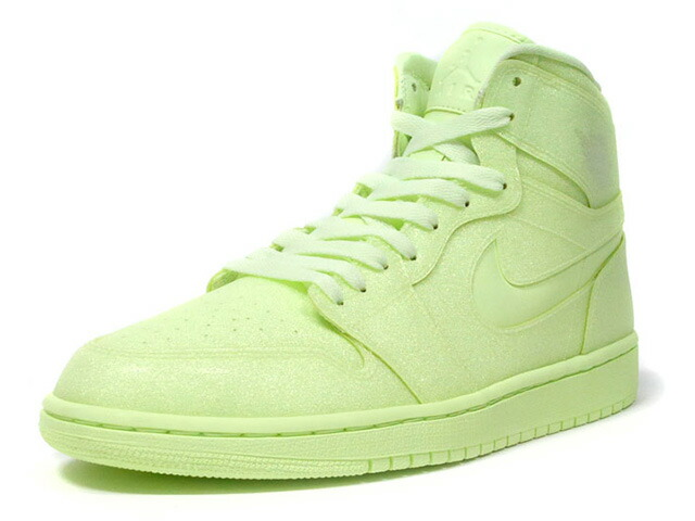 "JORDAN BRAND  (WMNS) AIR JORDAN 1 RETRO HIGH PREM ""BARELY VOLT"" ""MICHAEL JORDAN"" ""LIMITED EDITION for JORDAN BRAND""  BARELY VOLT/BARELY VOLT (AH7389-700)"
