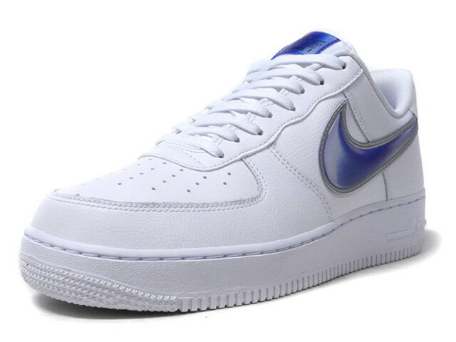 "NIKE AIR FORCE 1 '07 LV8 3 ""LIMITED EDITION for NSW""  WHT/BLU/SLV (AO2441-101)"