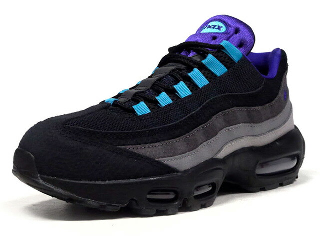 "NIKE AIR MAX 95 LV8 ""GRAPE REVERSE"" ""LIMITED EDITION for NSW""  BLACK/COURT PURPLE-TEAL NEBULA/NOIR/VIOLET COURT  (AO2450-002)"