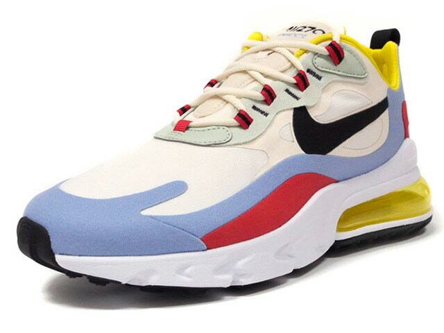 "NIKE (WMNS) AIR MAX 270 REACT ""BAUHAUS"" ""LIMITED EDITION for NSW""  PHANTOM/BLACK-LIGHT BLUE/FANTOME/BLEU CLAIR/NOIR (AT6174-002)"