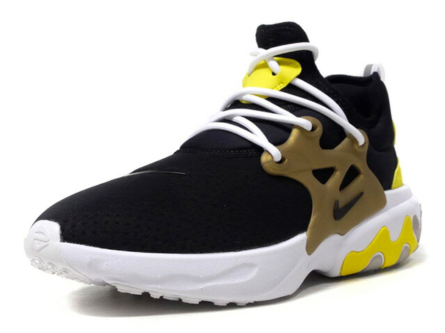 "NIKE REACT PRESTO ""BRUTAL HONEY"" ""LIMITED EDITION for NSW""  BLK/YEL/GLD/WHT (AV2605-001)"