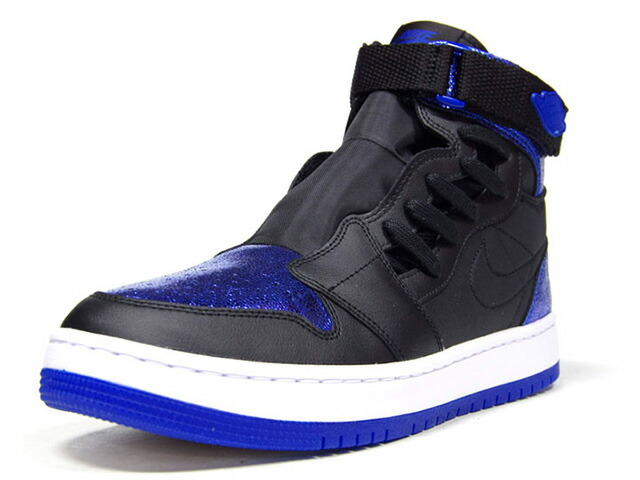 "JORDAN BRAND (WMNS) AIR JORDAN 1 NOVA XX ""ROYAL"" ""MICHAEL JORDAN"" ""LIMITED EDITION for JORDAN BRAND""  BLACK/GAME ROYAL/WHITE/NOIR/BLANC/JEU ROYAL (AV4052-041)"