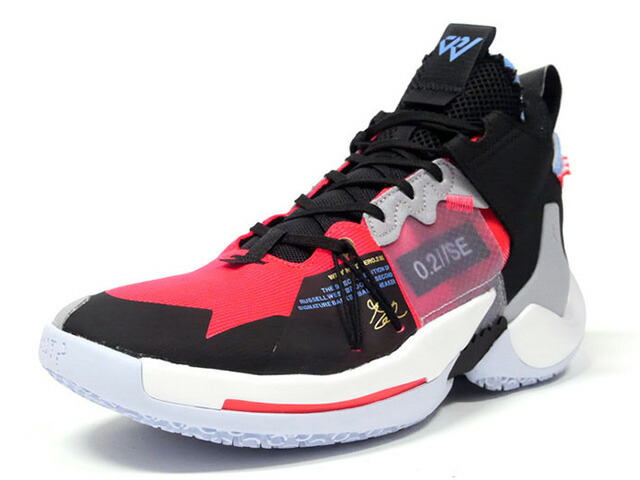 "JORDAN BRAND JORDAN WHY NOT ZER0.2 SE PF ""RUSSELL WESTBROOK""  RED ORBIT/RED ORBIT/BLACK/WHITE (AV4126-600)"
