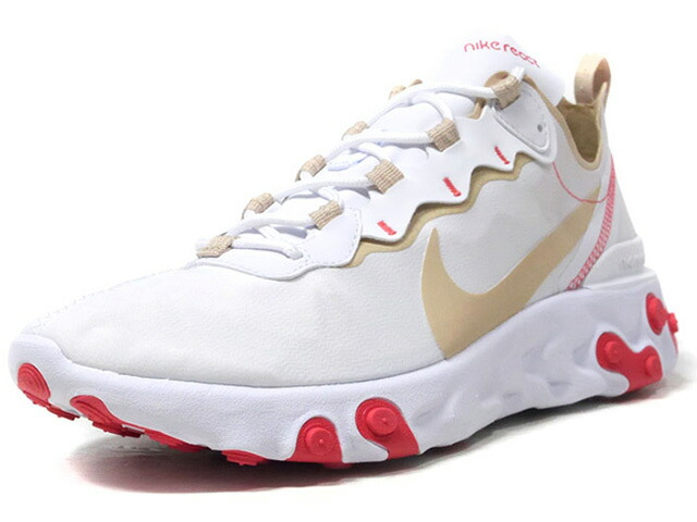 "NIKE (WMNS) REACT ELEMENT 55 ""LIMITED EDITION for NSW""  WHT/BGE/RED (BQ2728-101)"