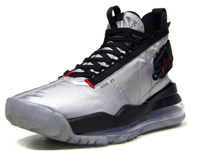 "JORDAN BRAND JORDAN PROTO-MAX 720 ""LIMITED EDITION for JORDAN BRAND""  METALLIC SILVER/GYM RED/BLACK/ARGENT METALLIQUE/ROUGE GYM (BQ6623-002)"