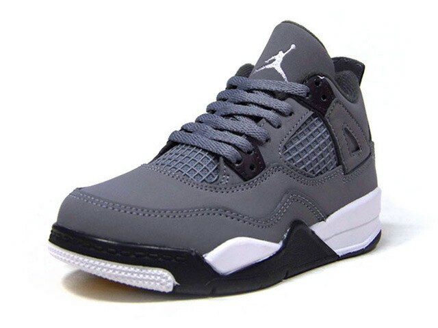 "JORDAN BRAND JORDAN 4 RETRO PS ""COOL GREY"" ""MICHAEL JORDAN"" ""LIMITED EDITION for JORDAN BRAND""  COOL GREY/CHROME/DARK CHARCOAL/GRIS FRAIS/CHROME (BQ7669-007)"