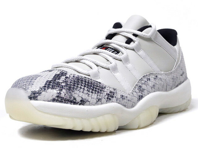 "JORDAN BRAND AIR JORDAN 11 RETRO LOW LE ""SNAKESKIN"" ""MICHAEL JORDAN"" ""LIMITED EDITION for JORDAN BRAND""  L.BGE/BLK/NAT (CD6846-002)"