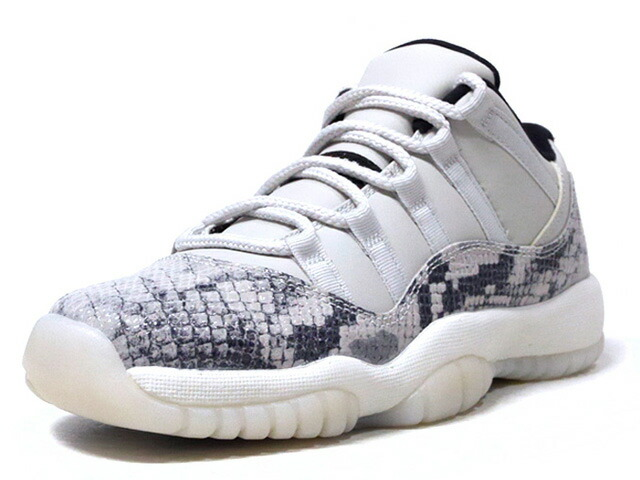 "JORDAN BRAND AIR JORDAN 11 RETRO LOW LE GS ""SNAKESKIN"" ""MICHAEL JORDAN"" ""LIMITED EDITION for JORDAN BRAND""  L.BGE/BLK/NAT (CD6847-002)"